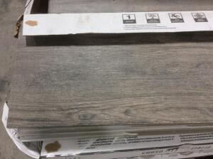 Approx 100 Sq Ft Porcelain Tile Selva Ash