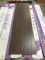 Approx 320 Sq Ft Wood Flooring Scraped Vtg. Hickory Ember