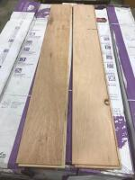Approx 320 Sq Ft Wood Flooring Scraped Vtg. Hickory Ember - 2