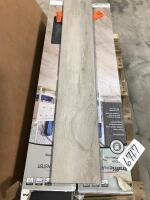 Approx 140 Sq Ft Vinyl Plank Flooring Moonstone