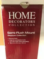 Semi-Flush Mount - 2