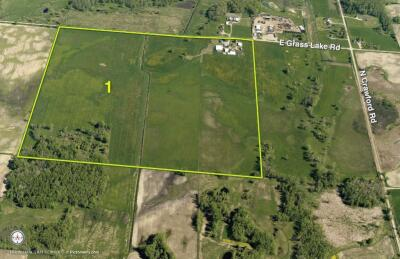 Tract 1 - 160 Acres with ranch house and outbuildings