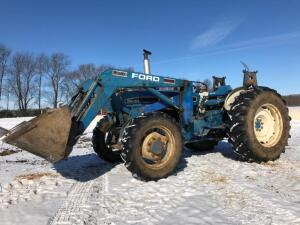 Ford 5030 Tractor with Loader, 4X4, shows 4,050 hours, S/N - BD81905