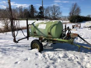 Calsa Field Sprayer, PTO Pump, comes with extra parts, works