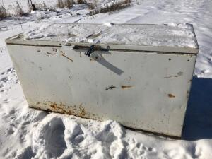 Chest Freezer, used to store feed