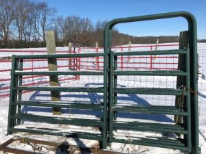 (4) Big Country 10' Gates with 4' man gates