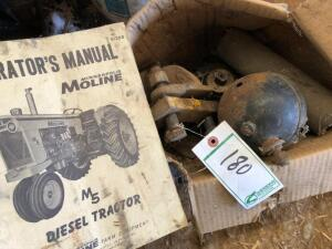 Minneapolis Moline M5 Tractor parts and Manual