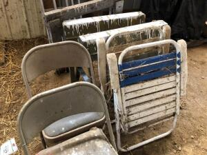 Folding Chairs, Lawn Chairs and Saw Horses