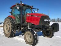 Case IH Maxxum 125 Tractor, 2X4, 1,200 hours, 16 speed, shuttle shift, S/N - Z9BE06797