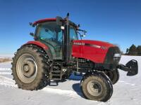 Case IH Maxxum 125 Tractor, 2X4, 1,200 hours, 16 speed, shuttle shift, S/N - Z9BE06797 - 2