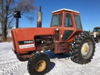 Allis-Chalmers 7060 Tractor, shows 6671 hours - 2
