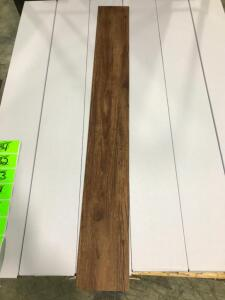 324 Sq Ft Vinyl Glue Flooring Rustic Cherry