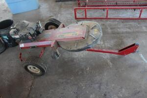 Swisher Postmaster Tow Mower and Fence Post Trimmer