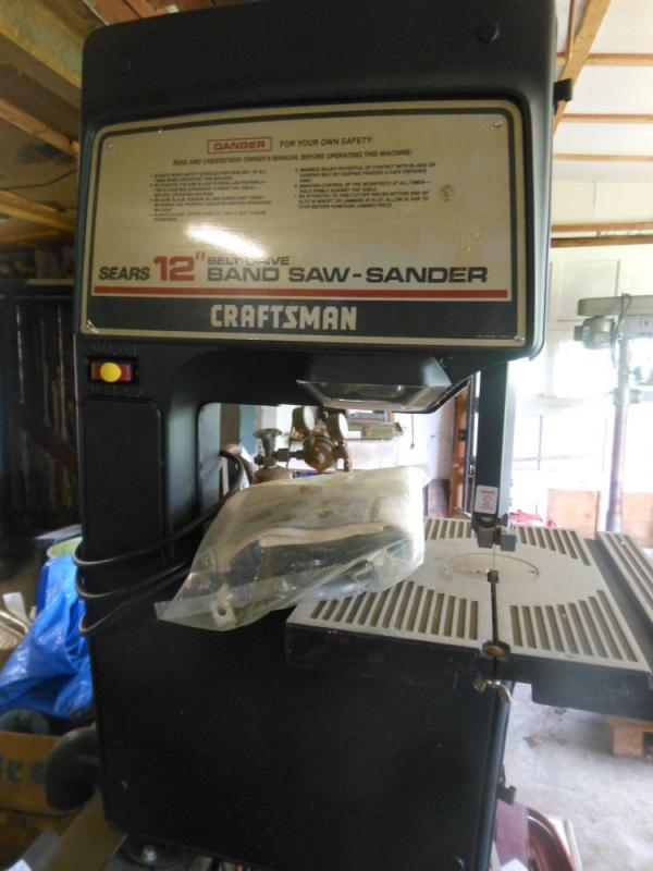 craftsman band saw sander. truskolawski trust tools and machinery (#40079) 05/15/2014 6:00 pm edt - 06/11/2014 3:00 closed! starts ending craftsman band saw sander