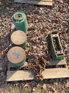 John Deere Planter Cans, Front Weight Bracket, Chain