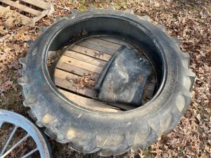 12.4-38 Tire with Tube