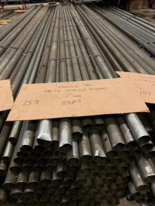 Seamless Tube 1.687 x .0437 wall thickness 17ft long 108 sticks
