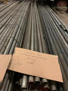 Seamlees Tube 2.123 x .088 wall thickness 17ft long 61 sticks