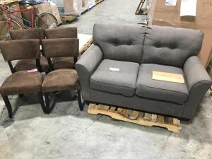 4 Chairs and Couch