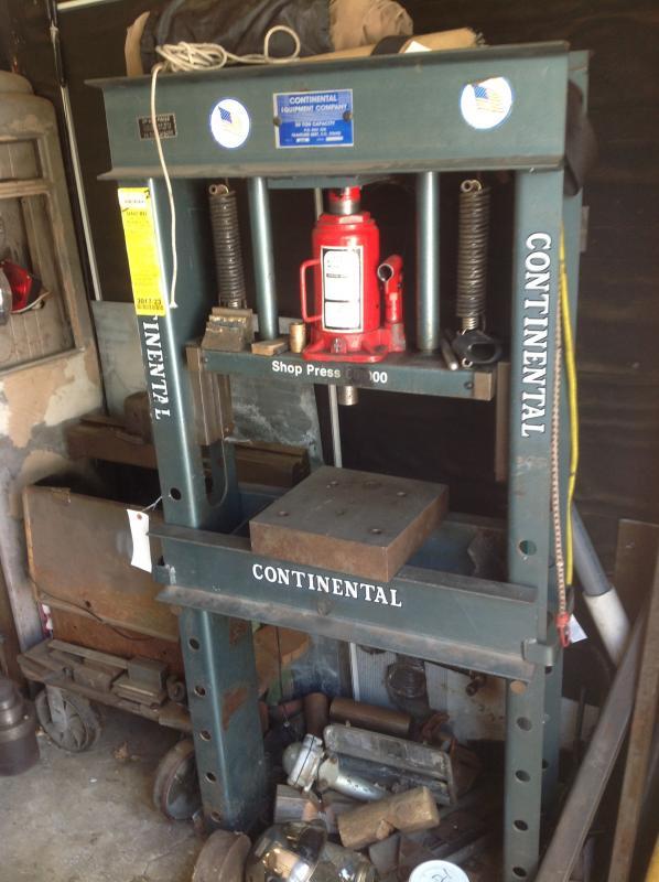 Continental 30 Ton Shop Press