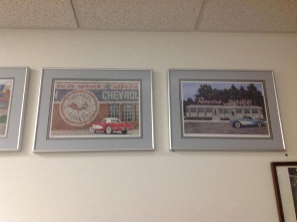 Automobile Wall Art