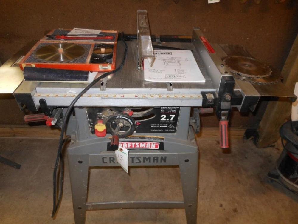 Craftsman table saw with 10 blade model 137248480 lot 13 of 85 craftsman table saw with 10 blade model 137248480 keyboard keysfo Choice Image