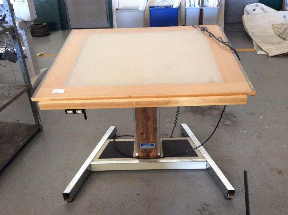 Lot 218 Of 150: Mayline Futur Matic Drafting Table