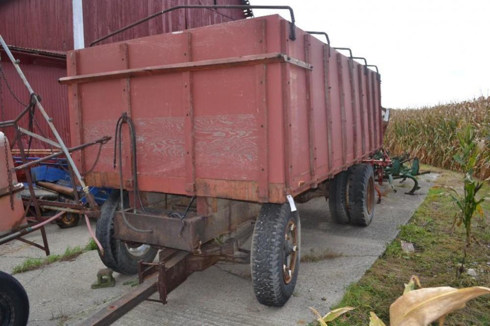 homemade wagon on truck chasis
