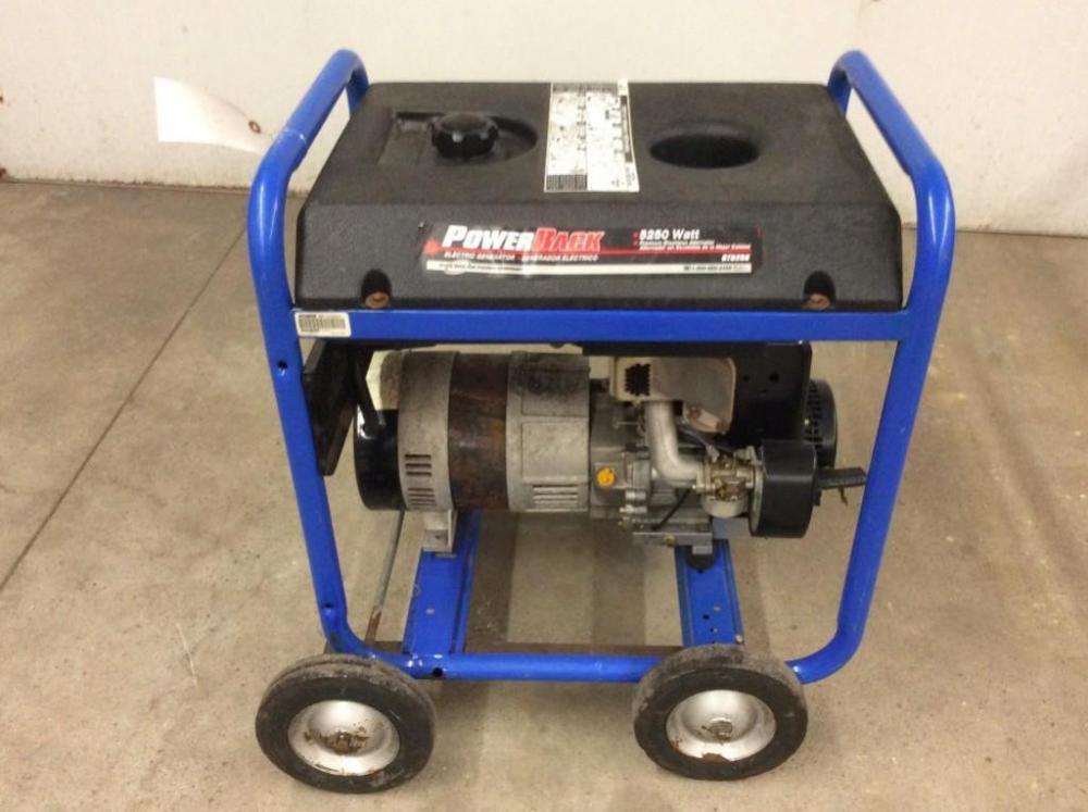 Lot 1657 Of 398 Back 5250 Watt Electric Generator
