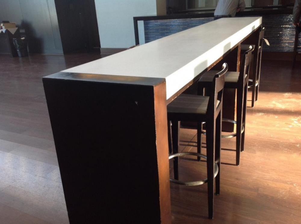 Lot 425 Of 558 Granite High Top Bar Table And 7 Chairs