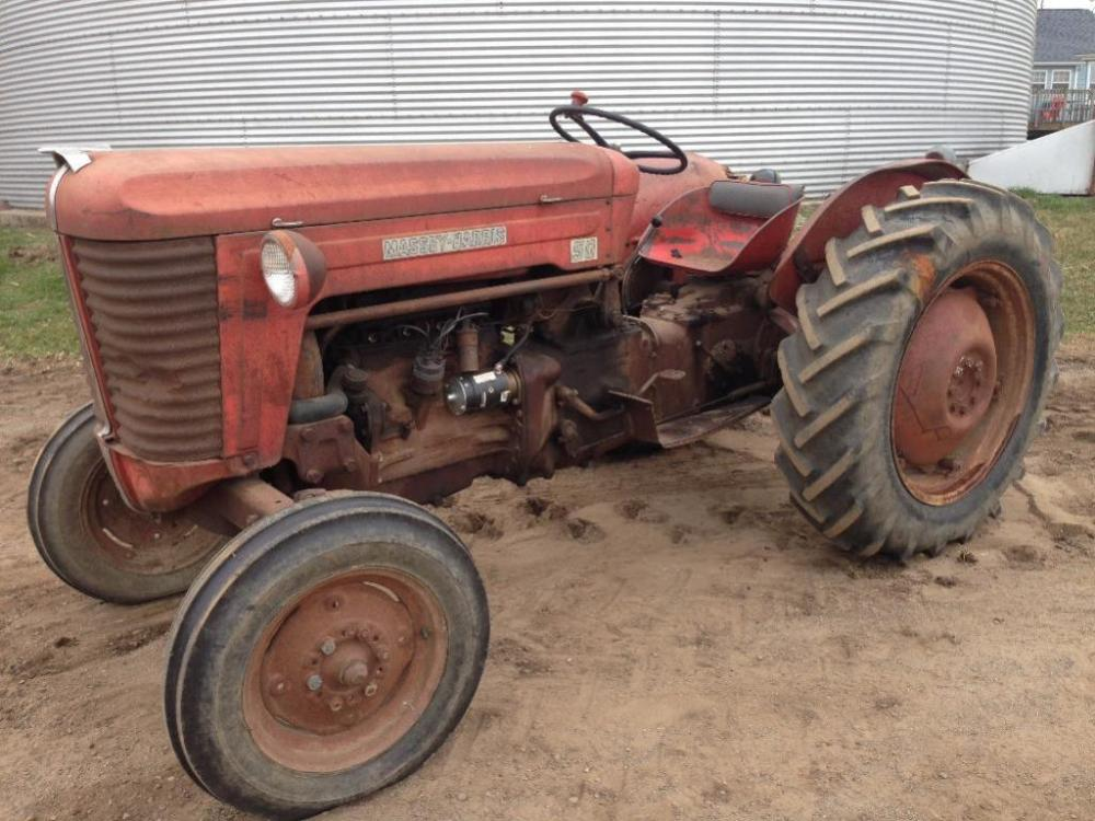 1956 massey harris 50 tractor s n 501111 Used Massey Ferguson Tractors lot 330 of 267 1956 massey harris 50 tractor s n 501111