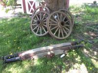 3) Steel Wagon Wheels