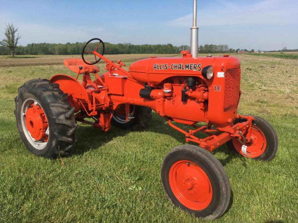 1954 Allis-chalmers Ca Tractor  S  N