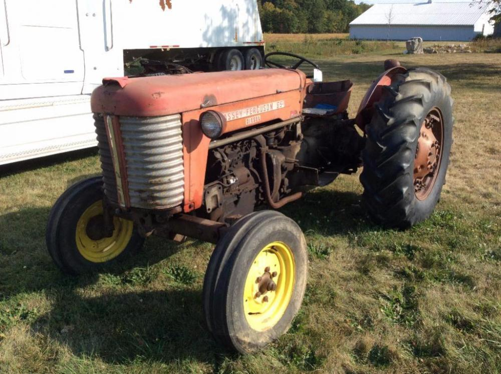 Lot 115A Of 329 Massey Ferguson 65 Diesel Tractor