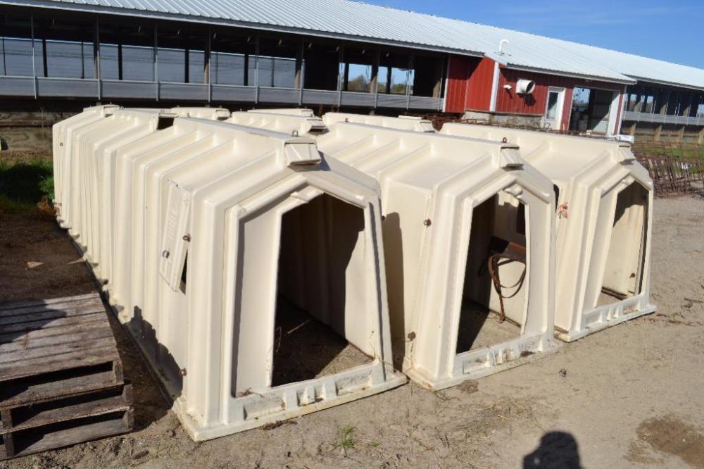 (10) Hamper Corp. Calf-Tel Calf Hutches