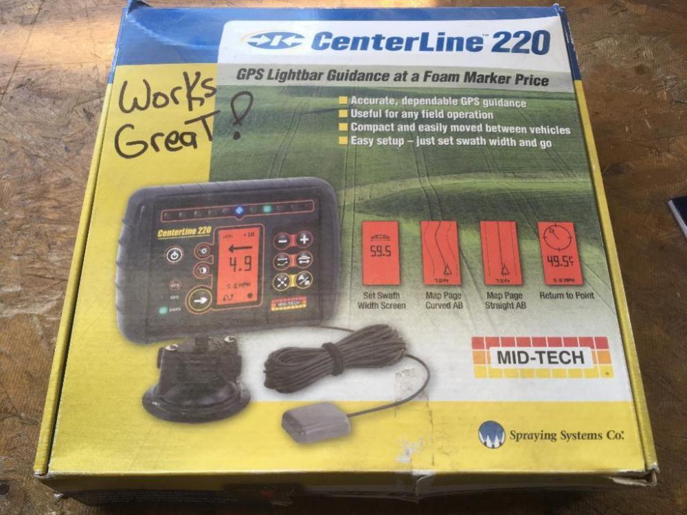 Centerline 220 gps lightbar guidance lot 121 of 40 centerline 220 gps lightbar guidance aloadofball Images