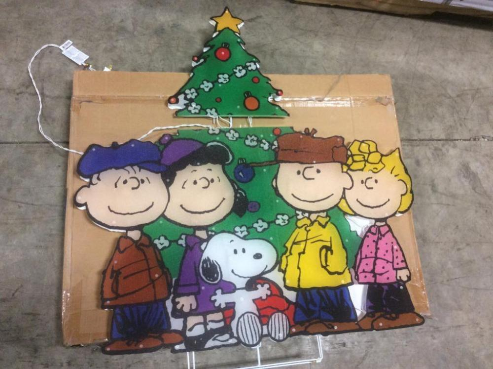 lot 3311 of 638 charlie brown christmas decoration
