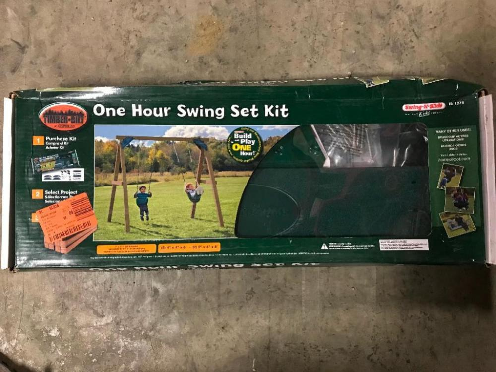 One Hour Swing Set Kit