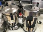 (4) Stainless Steel Hot Beverage Serving Dispensers