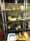 Shelf and Contents of Dishes and Misc