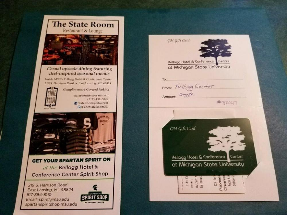 Dinner 70 Gift Certificate At The State Room Restaurant Kellogg