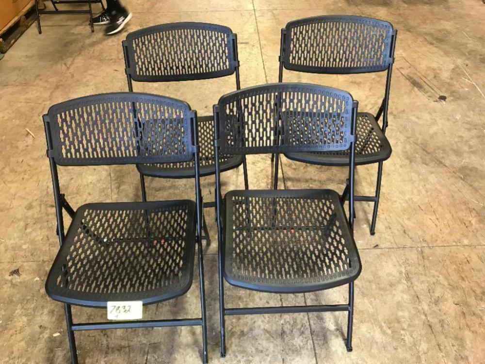 Merveilleux Lot 7832 Of 590: (4) Decorative Folding Chairs