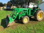 John Deere 990 with 430 loader and 2472 hrs