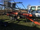 Kubota RA1042T Rotary Hay Rake, Used 1 season on straw, excellent condition