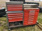 Double Toolboxes on Cart