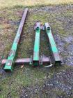 "(2) 4"" x 4""- 4ft steel for spindle frames and (1) 8ft- 4"" x 4"""